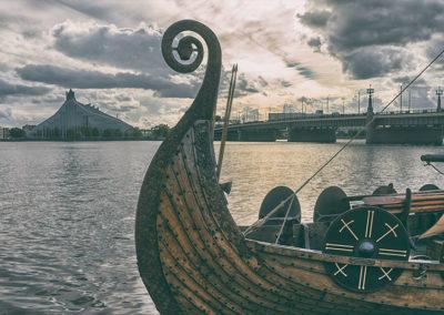 viking. Ship