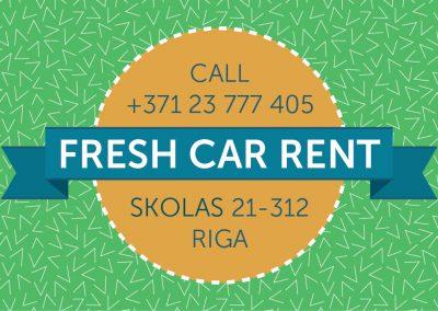 Business Card Rent Car